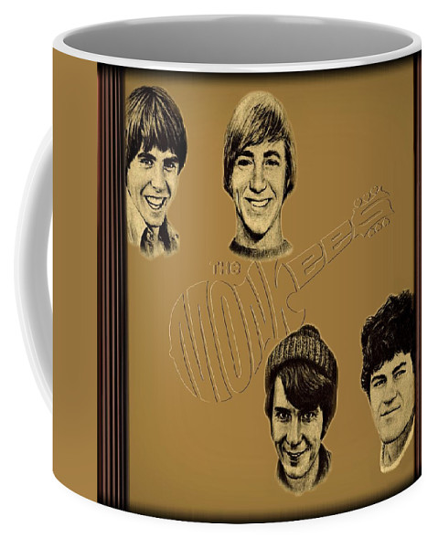 The Monkees Coffee Mug featuring the photograph The Monkees by Movie Poster Prints
