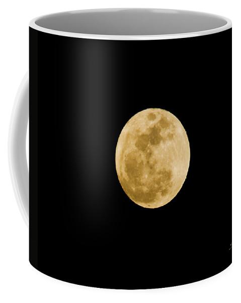 Moon Coffee Mug featuring the photograph The Moon by Scott Pellegrin