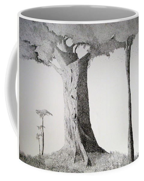 Landscape Coffee Mug featuring the painting The Mother Lode by A Robert Malcom