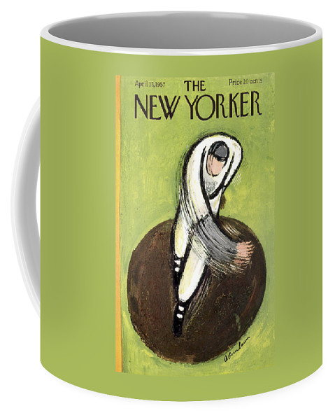 New Yorker April 13th, 1957 Coffee Mug