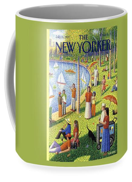 The New Yorker July 15th, 1991 Coffee Mug