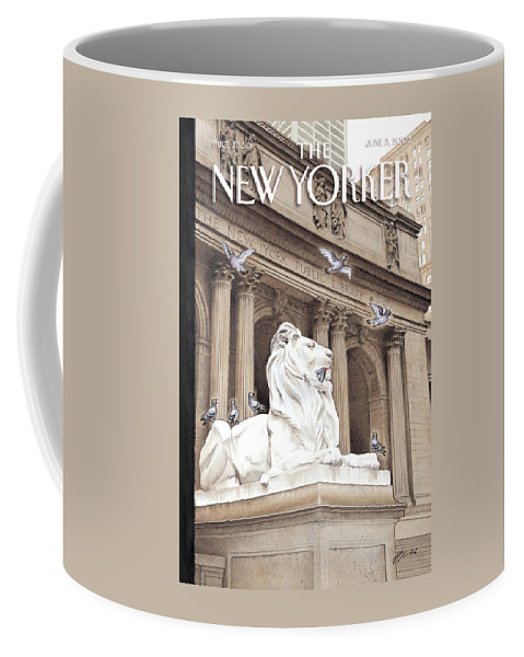 New Coffee Mug featuring the photograph It Is A Jungle Out There by Harry Bliss