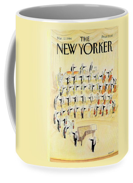 The New Yorker Cover - March 12th, 1984 Coffee Mug