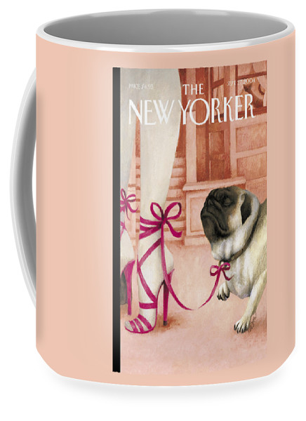 Brought Coffee Mug featuring the photograph The New Yorker Cover - September 27th, 2004 by Ana Juan