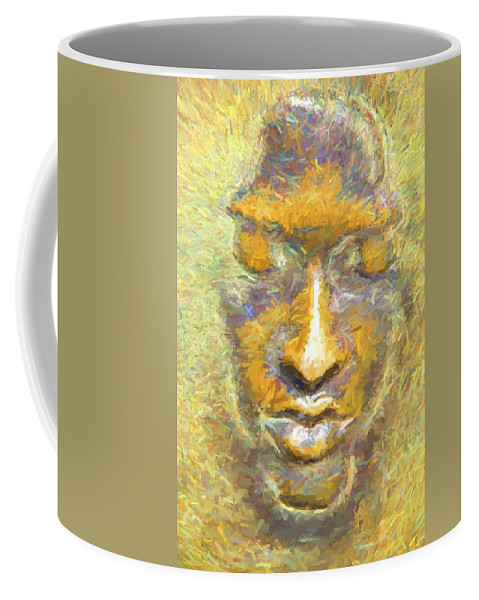 Face Coffee Mug featuring the photograph The Nose by Alice Gipson