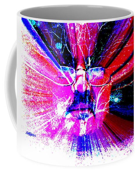 The Old Gardener Coffee Mug featuring the digital art The Old Gardener by Seth Weaver