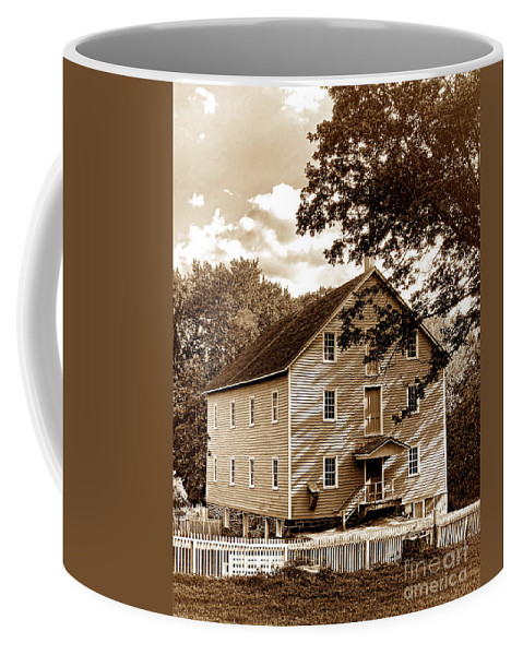 Walnford Coffee Mug featuring the photograph The Old Gristmill by Olivier Le Queinec