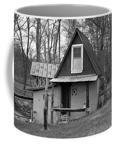 Mill Coffee Mug featuring the photograph The Old Mill by Richard Rizzo