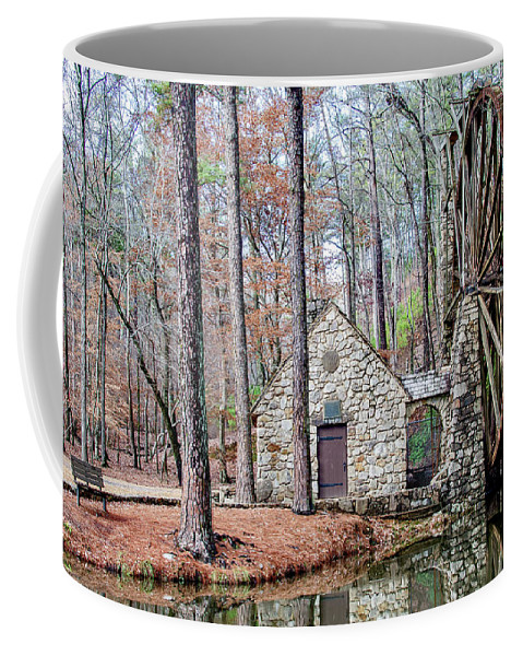 Old Mill Coffee Mug featuring the photograph The Old Mill by Tina Cannon