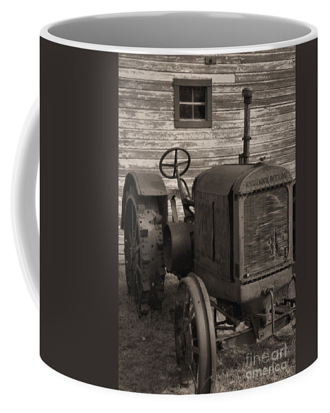 Abandoned Coffee Mug featuring the photograph The Old Mule by Richard Rizzo