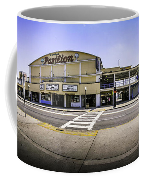 Myrtle Beach Coffee Mug featuring the photograph The Old Myrtle Beach Pavilion by David Smith