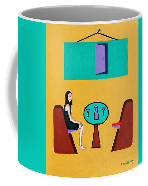 Love Coffee Mug featuring the painting The Open Door by Patrick J Murphy