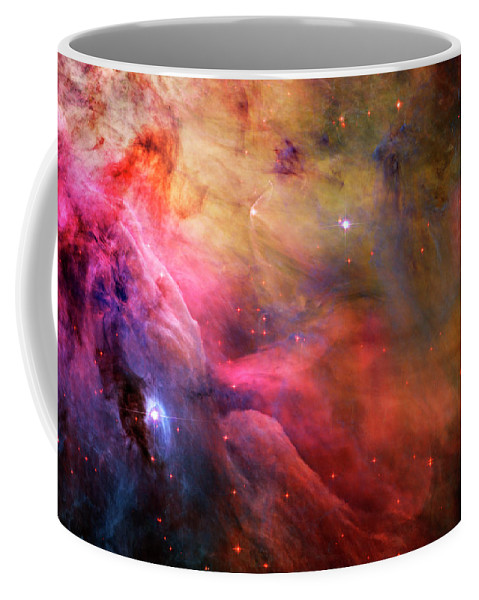 Messier 42 Coffee Mug featuring the photograph The Orion Nebula Close Up I by Ricky Barnard