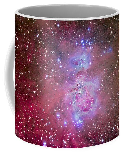 Emission Nebula Coffee Mug featuring the photograph The Orion Nebula Region by Alan Dyer