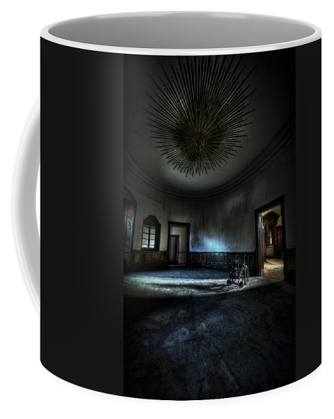 Abandon Coffee Mug featuring the photograph The Oval Star Room by Nathan Wright