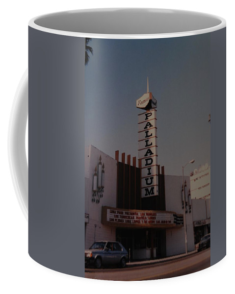 The Palladium Coffee Mug featuring the photograph The Palladium by Rob Hans