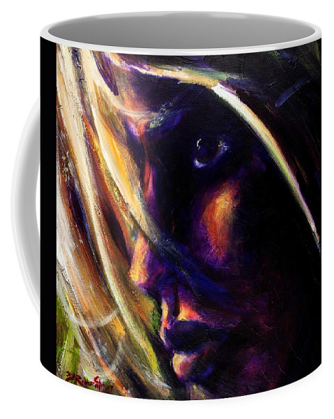Acrylic Coffee Mug featuring the painting The Past Is Gone by Jason Reinhardt