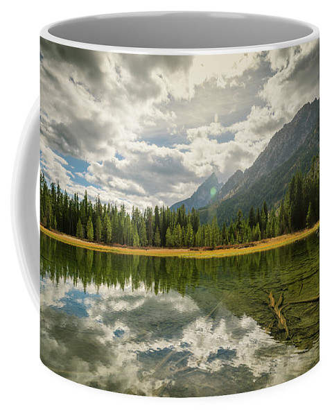 Landscape Coffee Mug featuring the photograph The Path by Jason Dodd