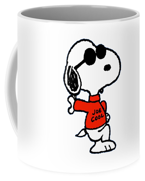 Snoopy Coffee Mug featuring the digital art The Peanuts by Kaila Lola