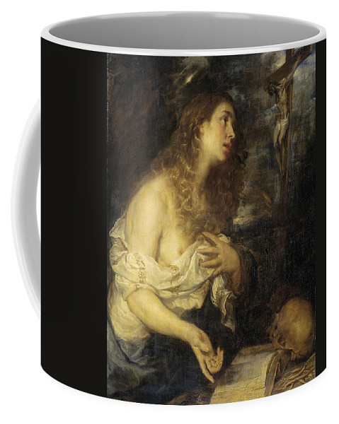 Mateo Cerezo Coffee Mug featuring the painting The Penitent Mary Magdalene by Mateo Cerezo