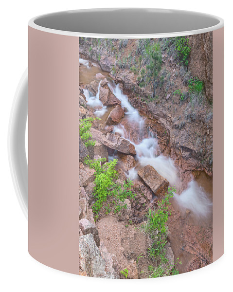 North Cheyenne Creek Coffee Mug featuring the photograph The Pessimist Sees Difficulties In Opportunities. The Optimist Sees Opportunities In Difficulties. by Bijan Pirnia