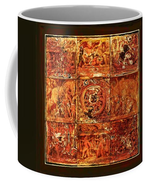 Bangladesh Coffee Mug featuring the digital art The Pieces Of Heritage by Rabi Khan