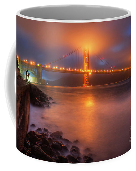 Seascape Coffee Mug featuring the photograph The Place Where Romance Starts by William Freebilly photography