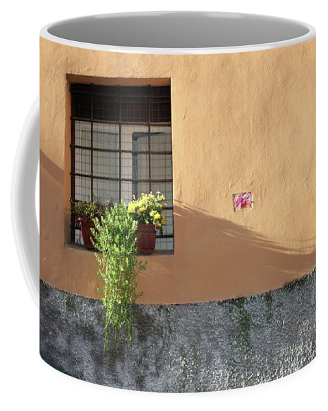 Rome Coffee Mug featuring the photograph The Plant by Munir Alawi
