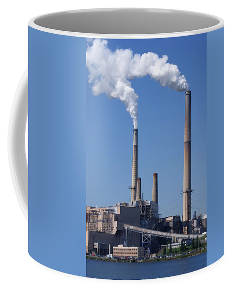 Plant Coffee Mug featuring the photograph The Plant On Mt Storm Wv by Jean Haynes