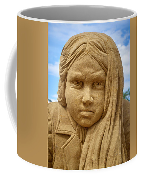 Finland Coffee Mug featuring the photograph The Playing Girl by Jouko Lehto