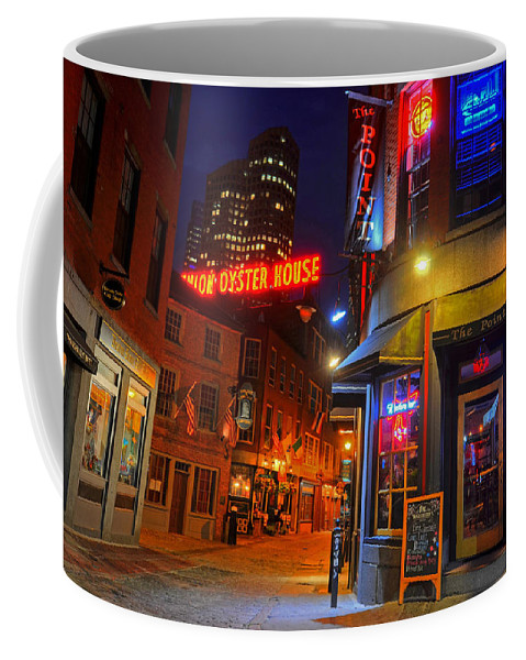 Boston Coffee Mug featuring the photograph The Point Marshall Street Boston Ma by Toby McGuire