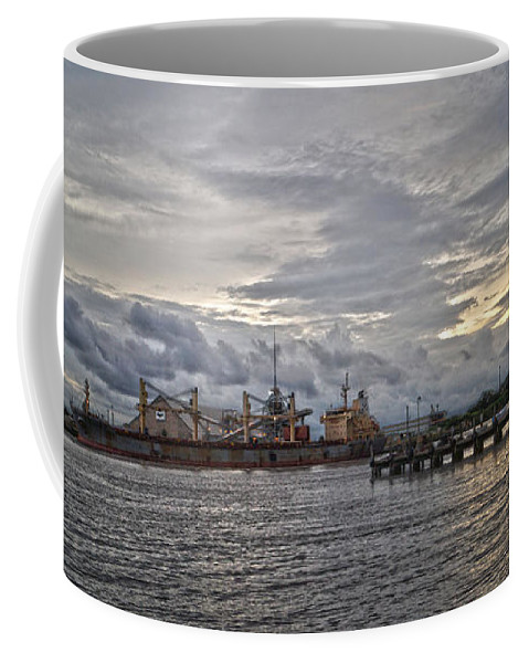 Port Coffee Mug featuring the photograph The Port by Chauncy Holmes