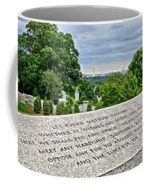 Liberty Coffee Mug featuring the photograph The Price Of Liberty by DJ Florek