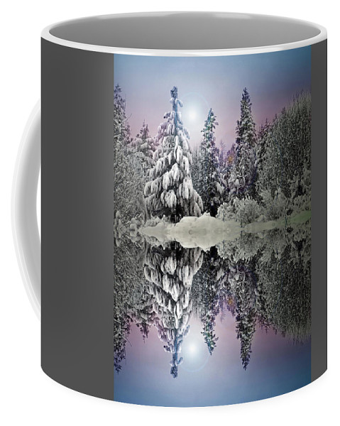 Tree Coffee Mug featuring the photograph The Promises That Winter Brings by Tara Turner