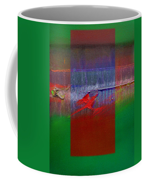 Landscape Coffee Mug featuring the painting The Red Dragon Tatoo by Charles Stuart