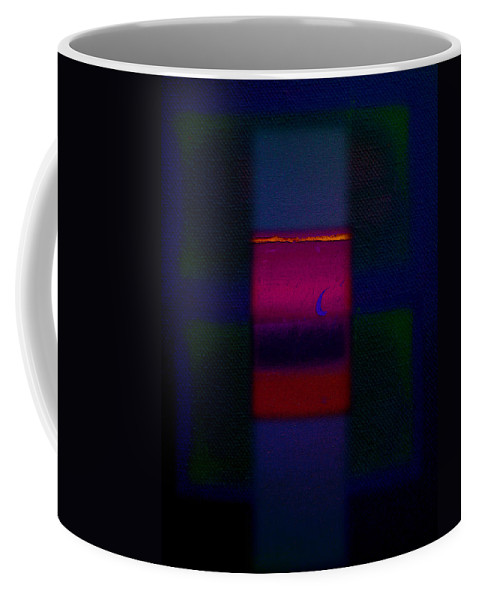 Rothko Coffee Mug featuring the painting The Red Nile by Charles Stuart