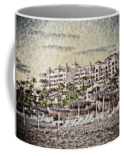 Loriental Coffee Mug featuring the photograph The Resort Beach by Loriental Photography