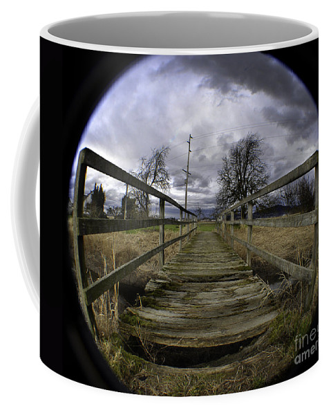 Art Coffee Mug featuring the photograph The Rickity Bridge by Clayton Bruster