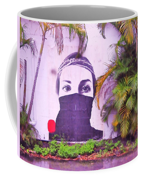 Woman Coffee Mug featuring the photograph Fighting For Life by Kicking Bear Productions