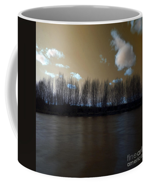 River Coffee Mug featuring the photograph The River Of Dreams by Angel Ciesniarska