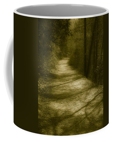 Road Coffee Mug featuring the photograph The Road To . . . by Ches Black