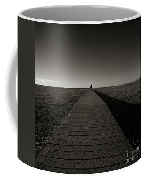 Bridge Coffee Mug featuring the photograph The Road To Nowhere by Angel Tarantella