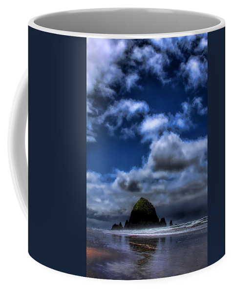 Cannon Beach Coffee Mug featuring the photograph The Rock by David Patterson