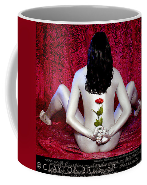 Clay Coffee Mug featuring the photograph The Rose by Clayton Bruster