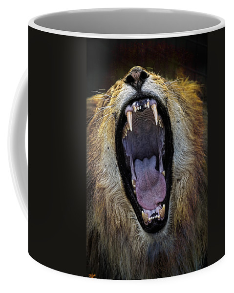 Yawn Coffee Mug featuring the photograph The Royal Yawn by Chris Lord