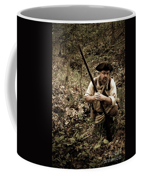 Reenactment Coffee Mug featuring the digital art The Scout2 by Kim Henderson