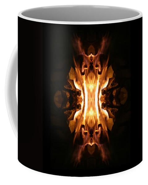 Photographs Coffee Mug featuring the photograph The Screamer by Munir Alawi