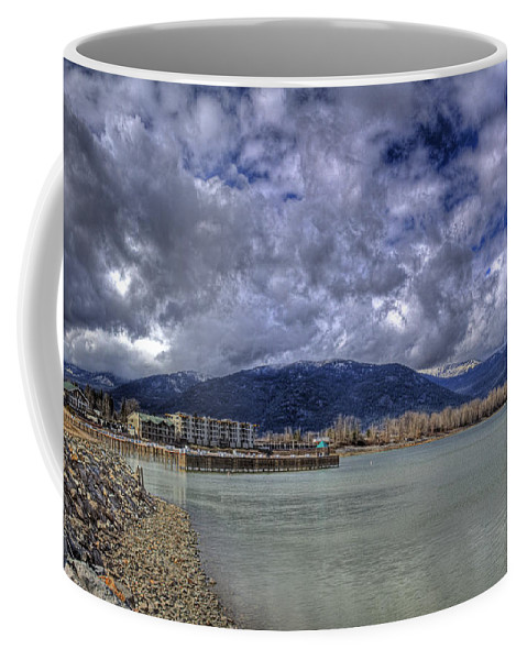 Lake Pend Oreille Coffee Mug featuring the photograph The Seasons On Lake Pend Oreille by Lee Santa