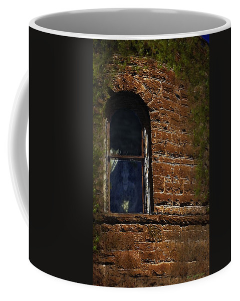 Castle Coffee Mug featuring the painting The Shade Of Osborne House by RC deWinter