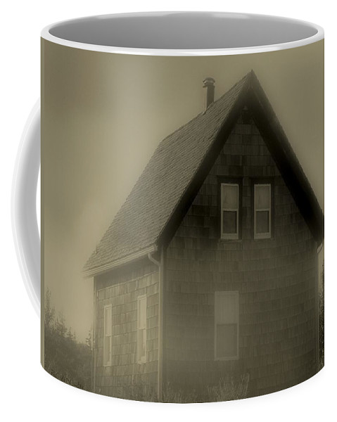 Landscape Coffee Mug featuring the photograph The Shroud by RC DeWinter